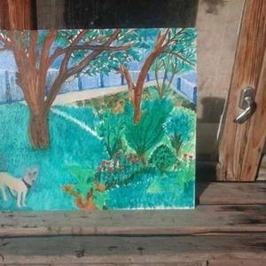 Картина с маслом на холсте