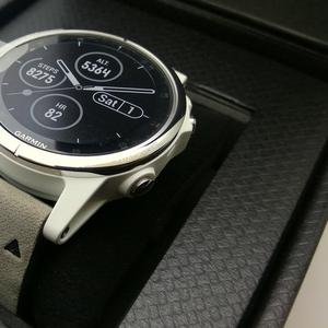 Часы Garmin Fenix 5S Plus Sapphire Премиум Мультиспорт