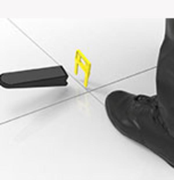 Система выравнивания крупноформатной плитки-3D Krestiki Quattro  5