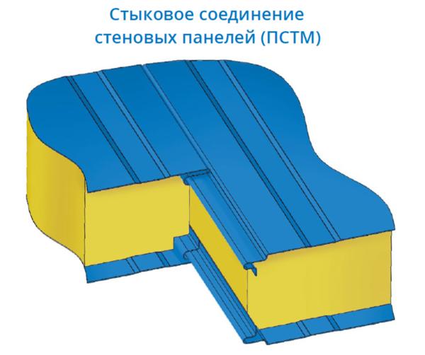 Стеновые сэндвич-панели с минераловатным утеплителем (МВУ) 4