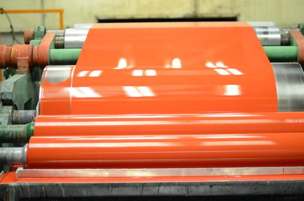 Окрашенный рулонный прокат толщиною 0, 8 мм 3