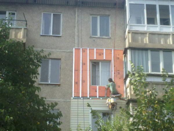 Утепление балкона 4