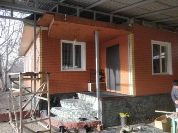 Монтаж сайдинга и фасадных термопанелей 6