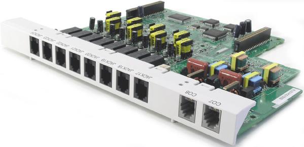 Panasonic KX-TE82480X плата расширения 8 аналоговых внутр.линий+2 вн.  2