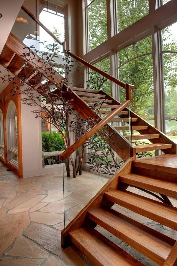 Деревянные лестницы высокого качества 3