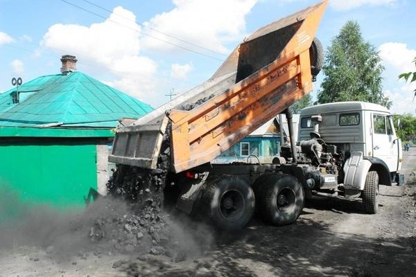 Доставка угля