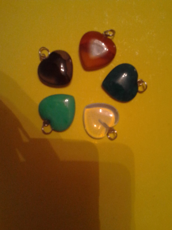 Кулоны из натуральных камней 2