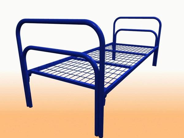 Кровати для бюджетных гостиниц,  одноярусные и двухъярусные,  оптом 2