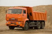 Аренда самосвалов с экипажем,  доступные цены от 3500 тг/час.