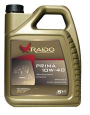 RAIDO Prima 10W40 / ACEA: A3/B3-12,  A3/B4-08 API: SL/CF