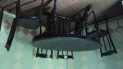 Продам стол из массива дуба размером 130х80см и 4 венских стула