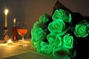 Флористическая краска (био-гель) для цветов светящаяся в темноте